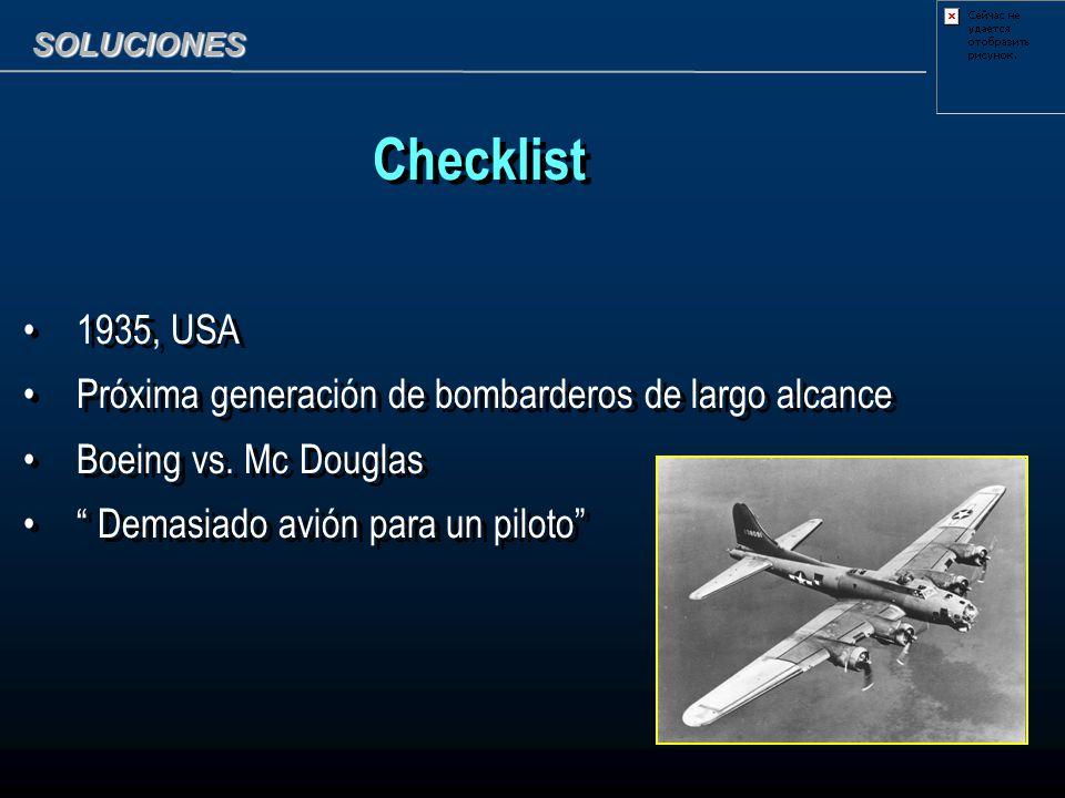 Checklist 1935, USA Próxima generación de bombarderos de largo alcance