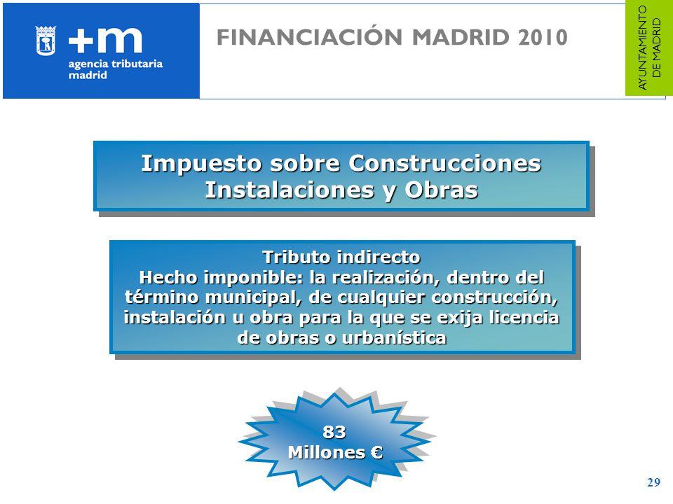 Impuesto sobre Construcciones Instalaciones y Obras
