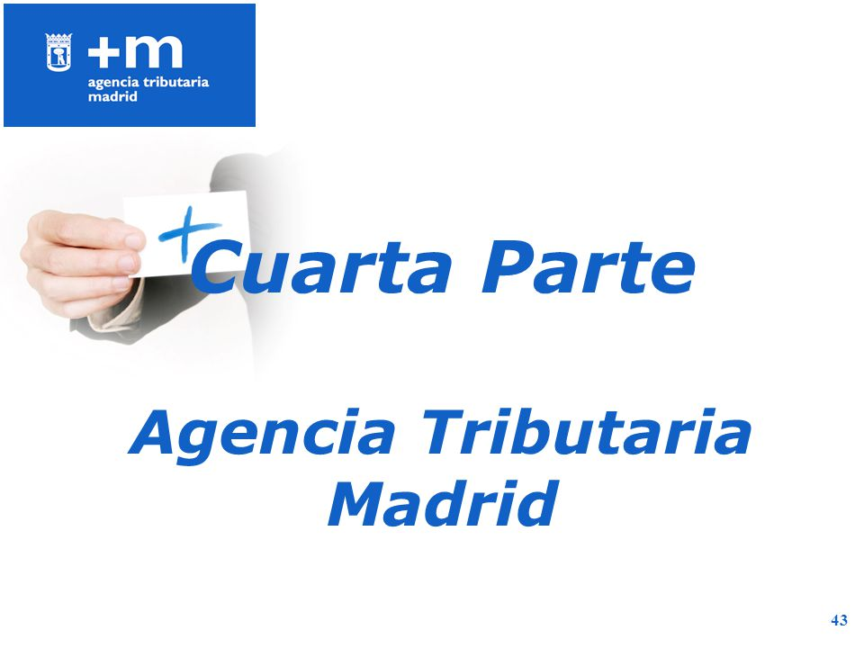 Agencia Tributaria Madrid