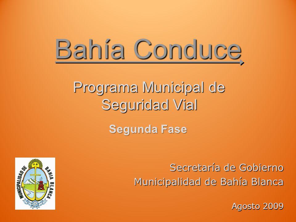 Programa Municipal de Seguridad Vial