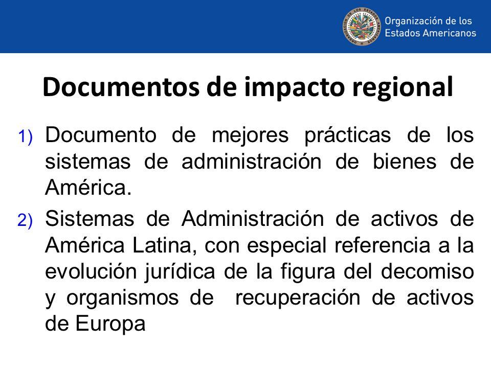 Documentos de impacto regional