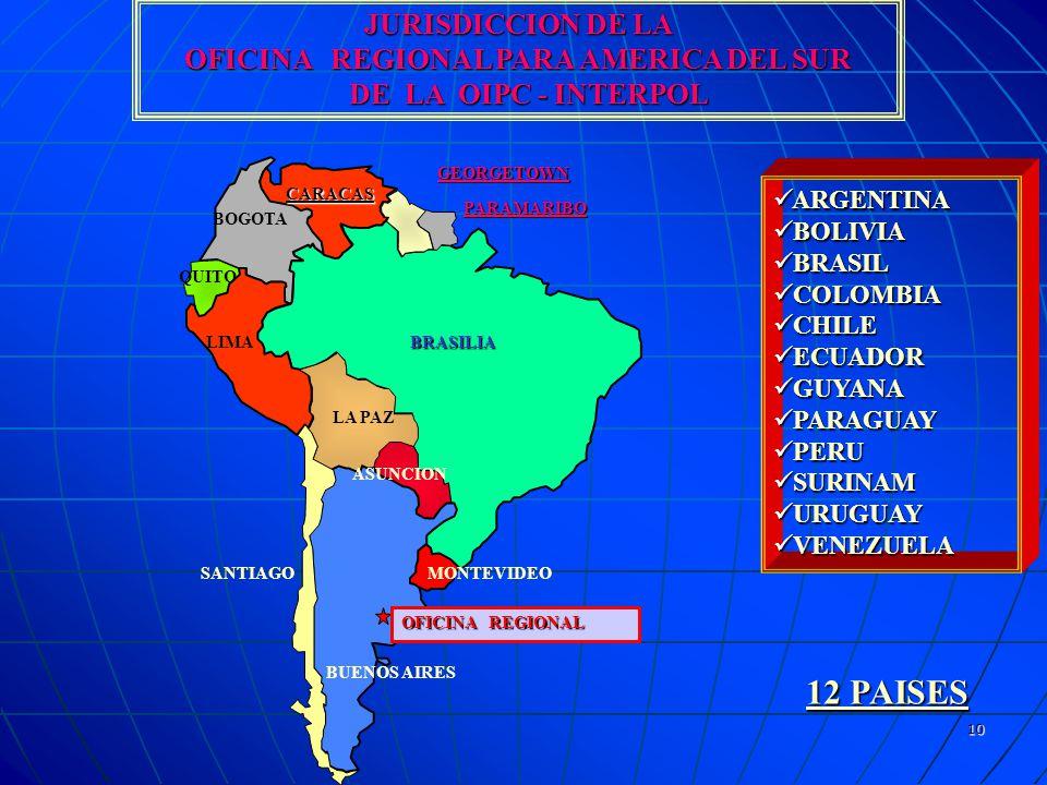 OFICINA REGIONAL PARA AMERICA DEL SUR