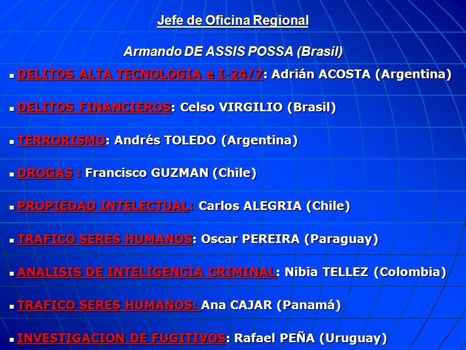 Jefe de Oficina Regional Armando DE ASSIS POSSA (Brasil)