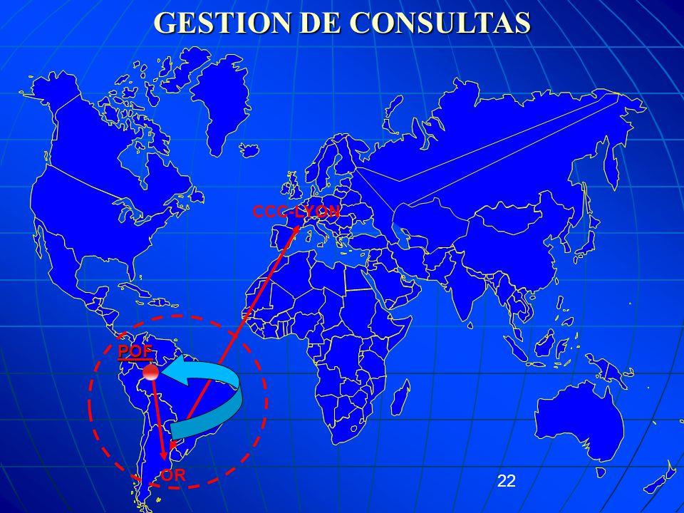 GESTION DE CONSULTAS CCC-LYON POF OR 22 22