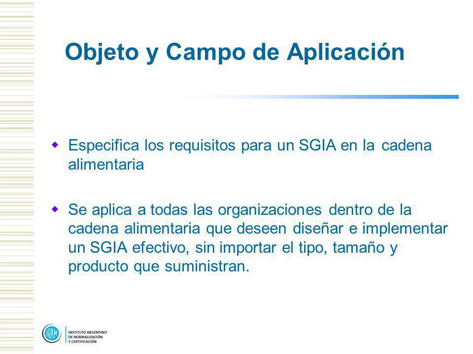 Objeto y Campo de Aplicación