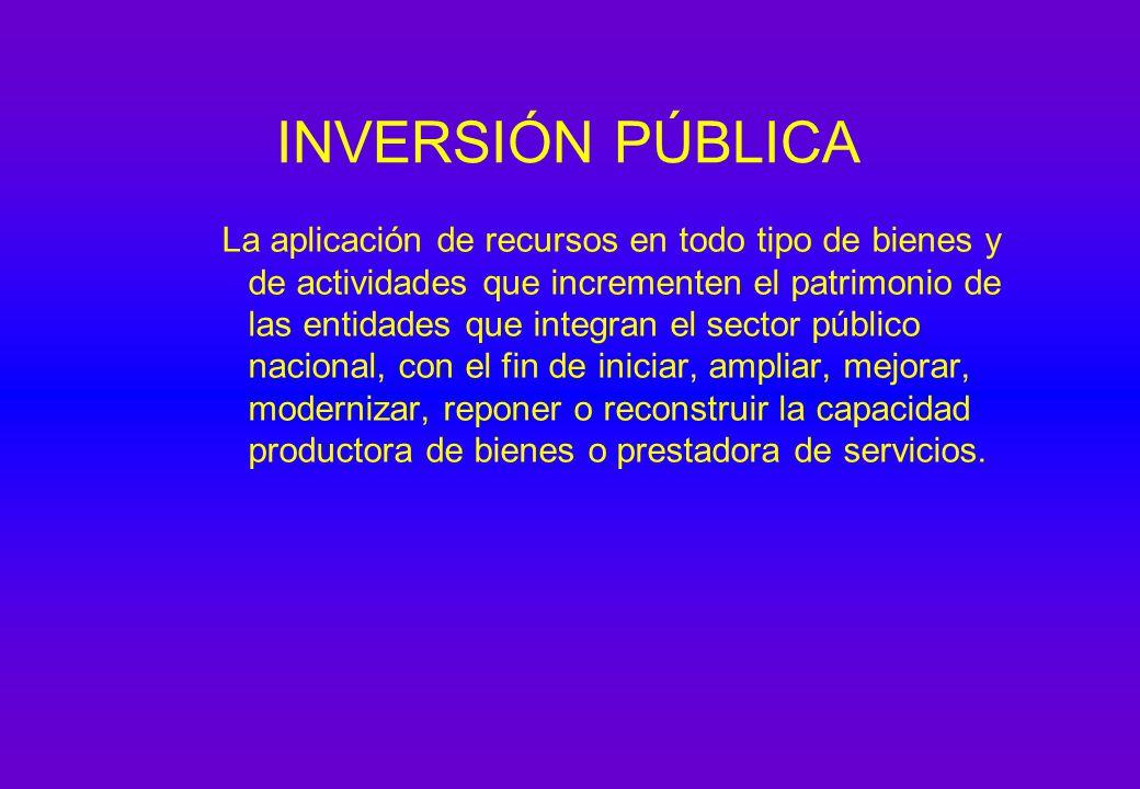 01/04/2017 INVERSIÓN PÚBLICA.