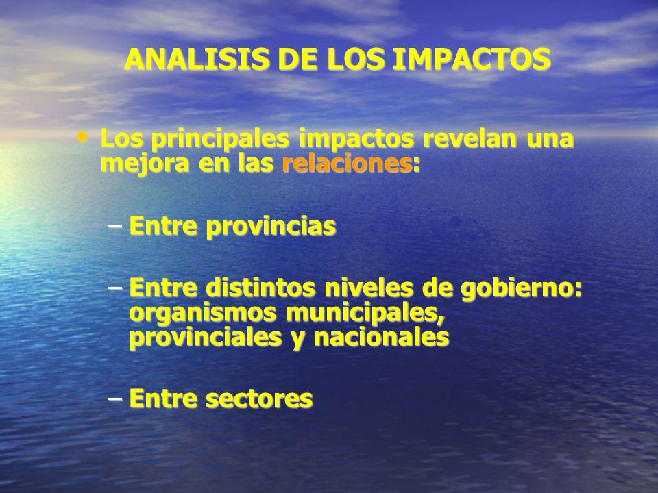 ANALISIS DE LOS IMPACTOS