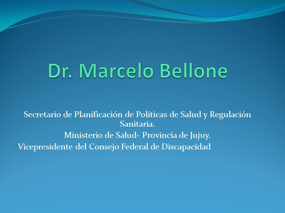 Ministerio de Salud- Provincia de Jujuy.