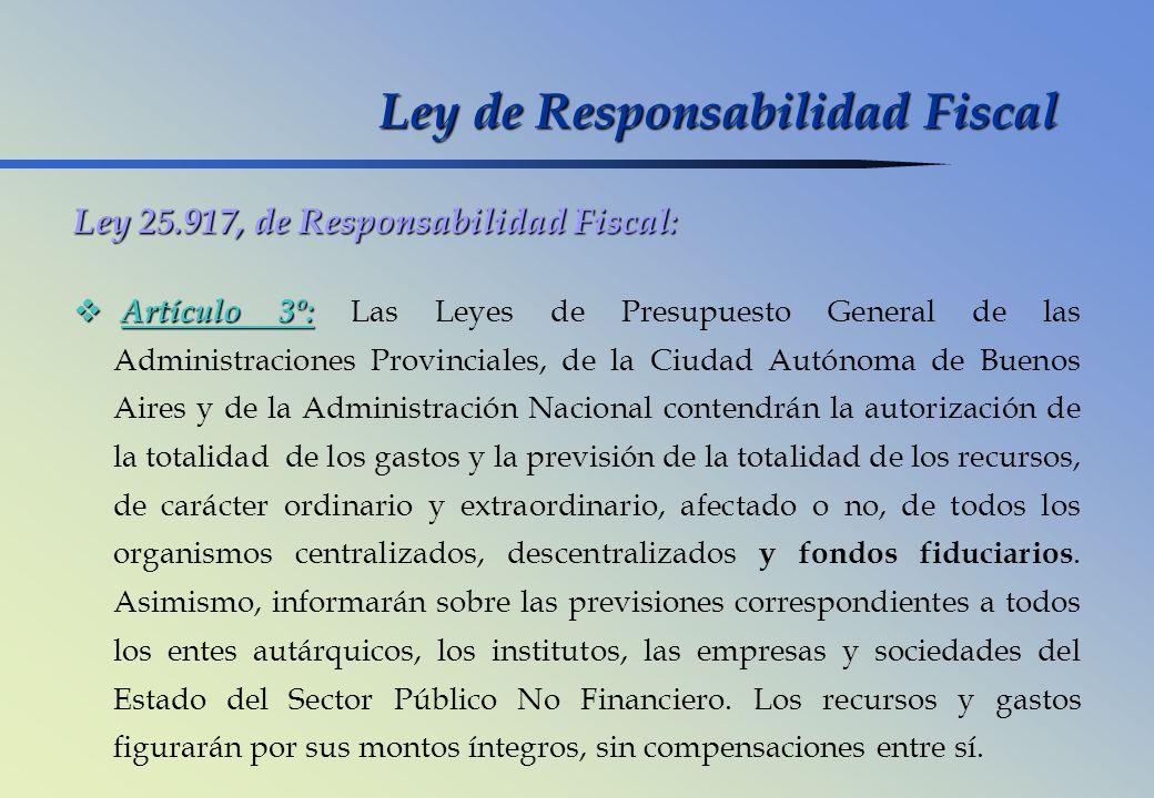 Ley de Responsabilidad Fiscal