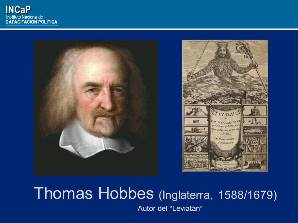 Thomas Hobbes (Inglaterra, 1588/1679)