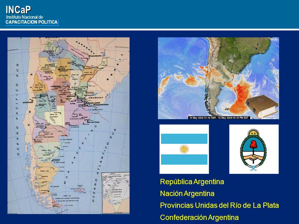 INCaP República Argentina Nación Argentina