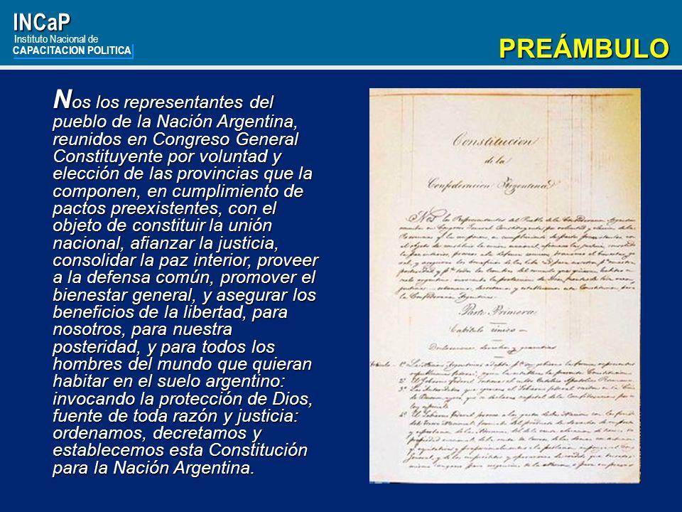 INCaP Instituto Nacional de. CAPACITACION POLITICA. PREÁMBULO.