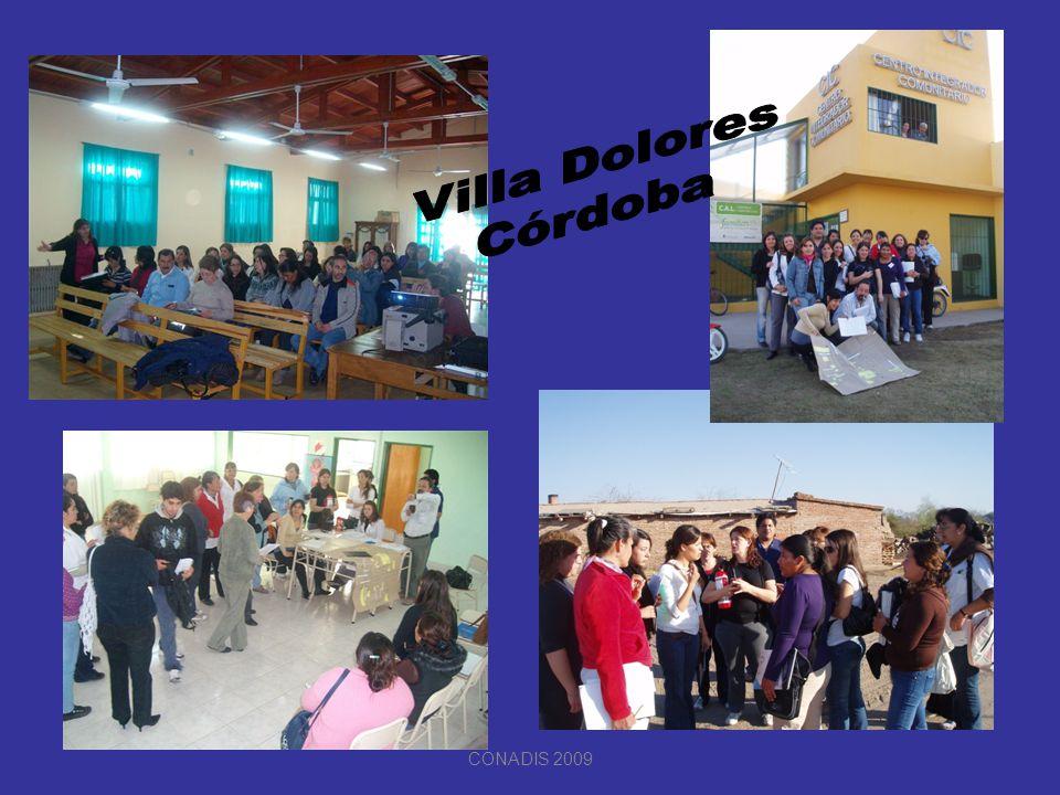 Villa Dolores Córdoba CONADIS 2009