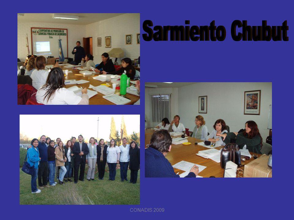 Sarmiento Chubut CONADIS 2009