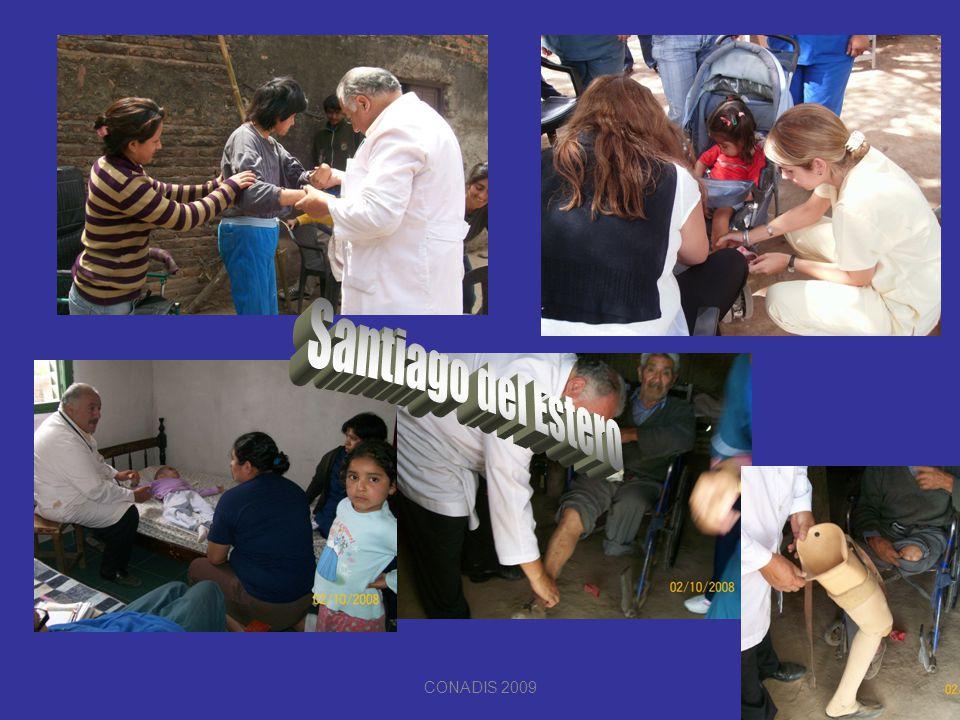 Santiago del Estero CONADIS 2009