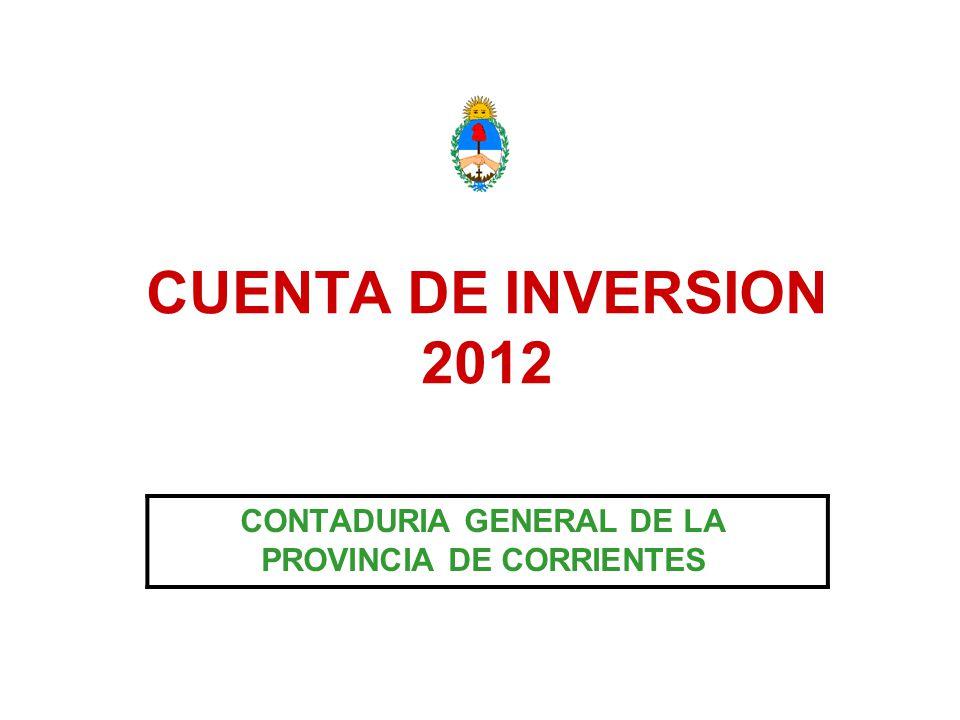 CONTADURIA GENERAL DE LA PROVINCIA DE CORRIENTES