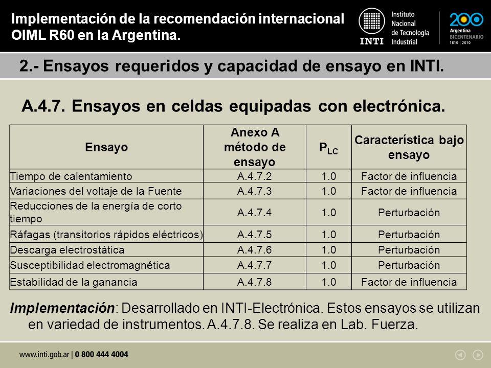 A.4.7. Ensayos en celdas equipadas con electrónica.