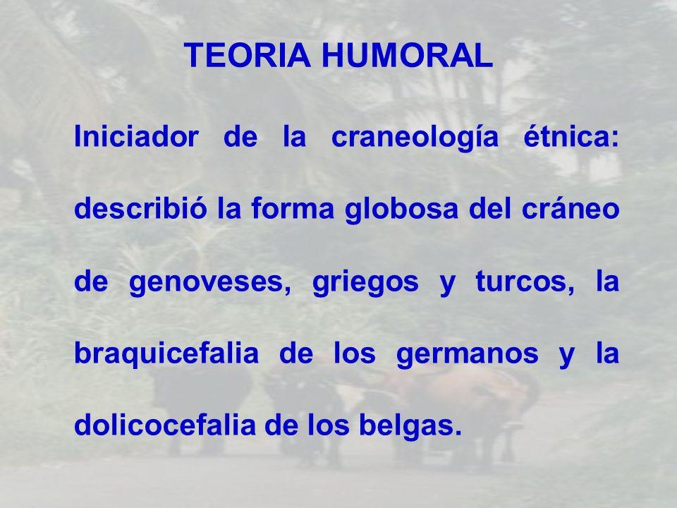 TEORIA HUMORAL
