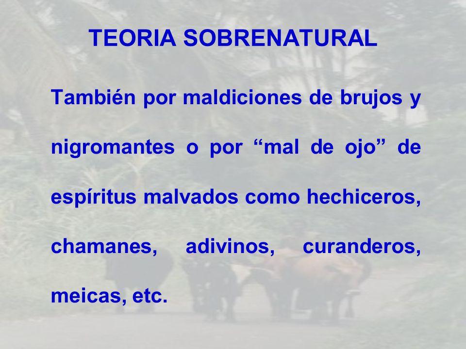 TEORIA SOBRENATURAL