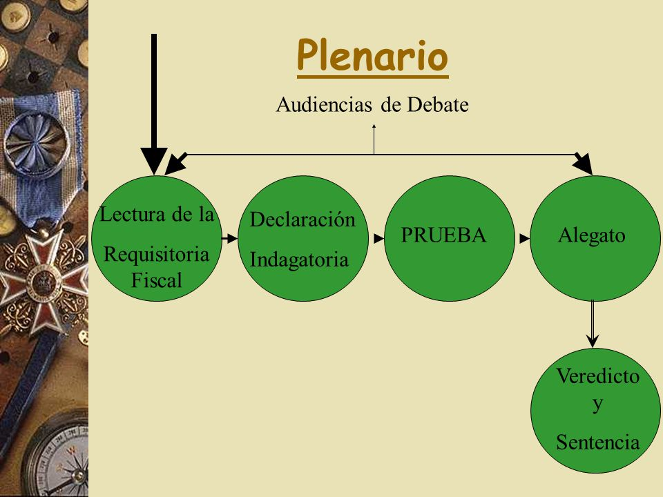 Plenario Audiencias de Debate Lectura de la Requisitoria Fiscal