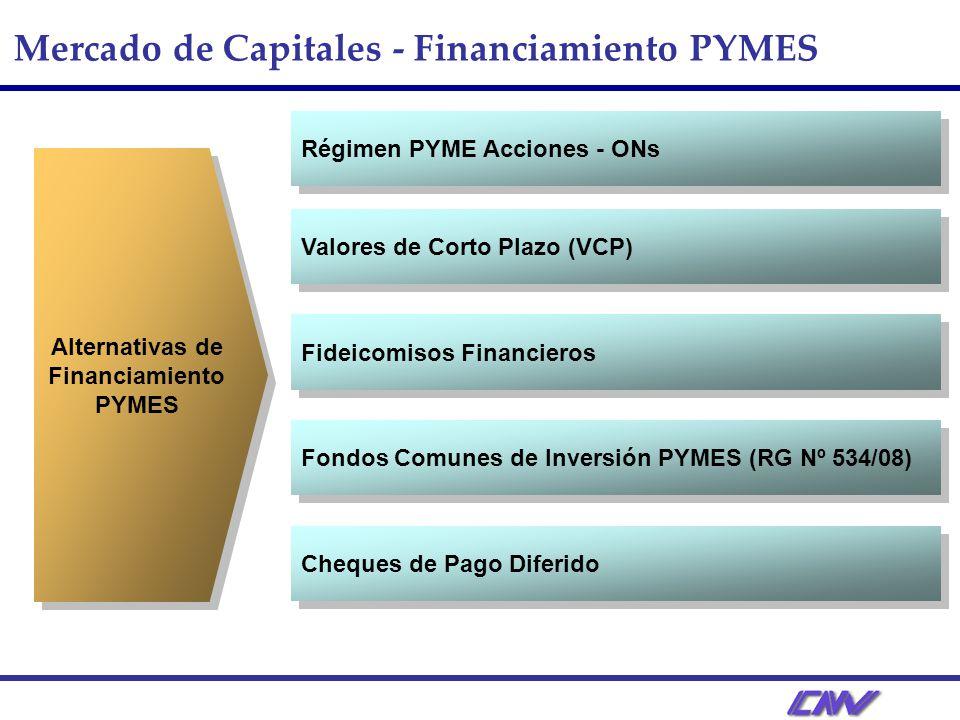 Alternativas de Financiamiento PYMES