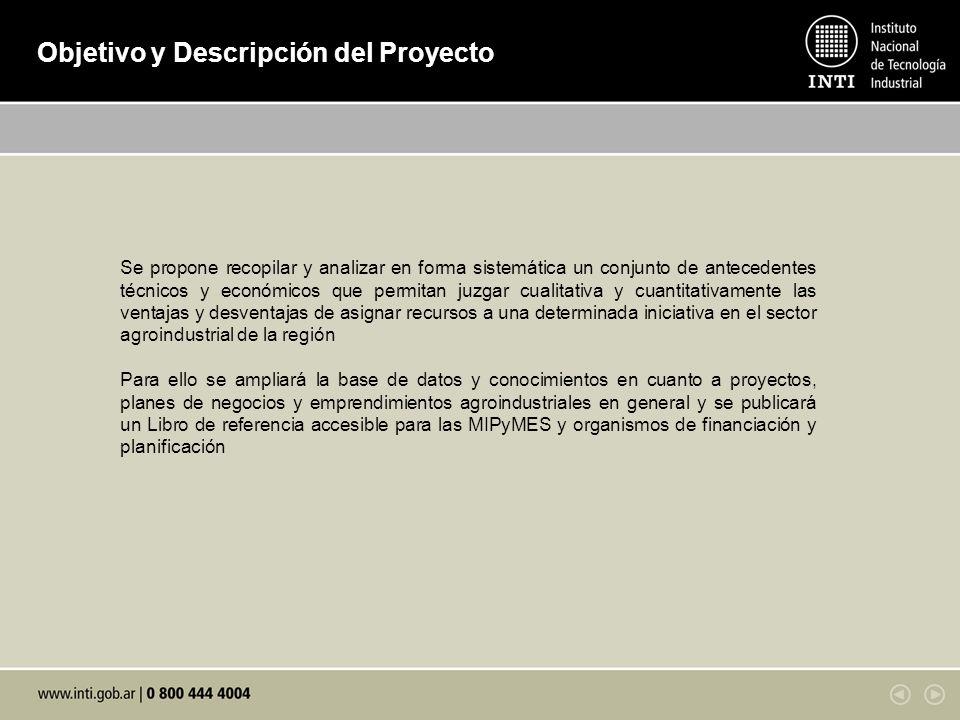 Objetivo y Descripción del Proyecto