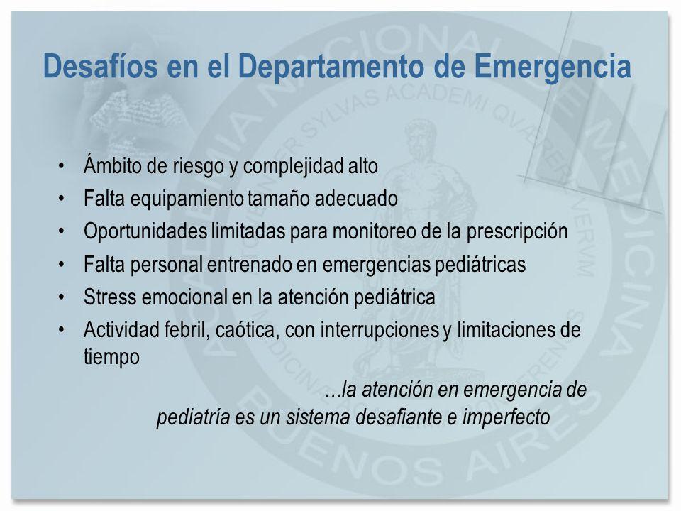 Desafíos en el Departamento de Emergencia