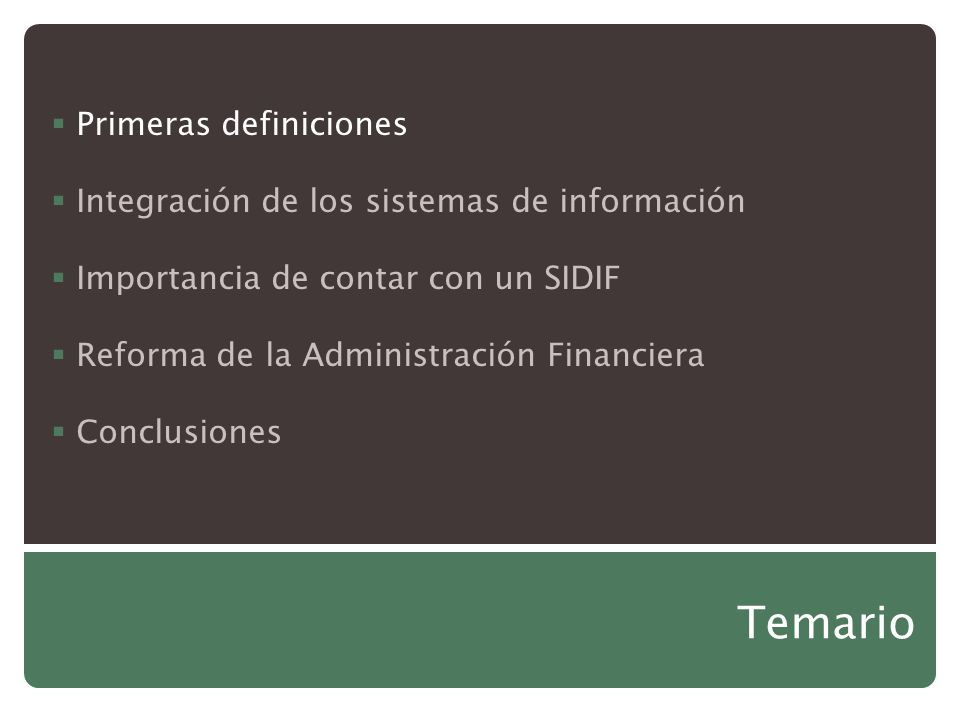 La importancia de los sistemas integrados de for Importancia de la oficina