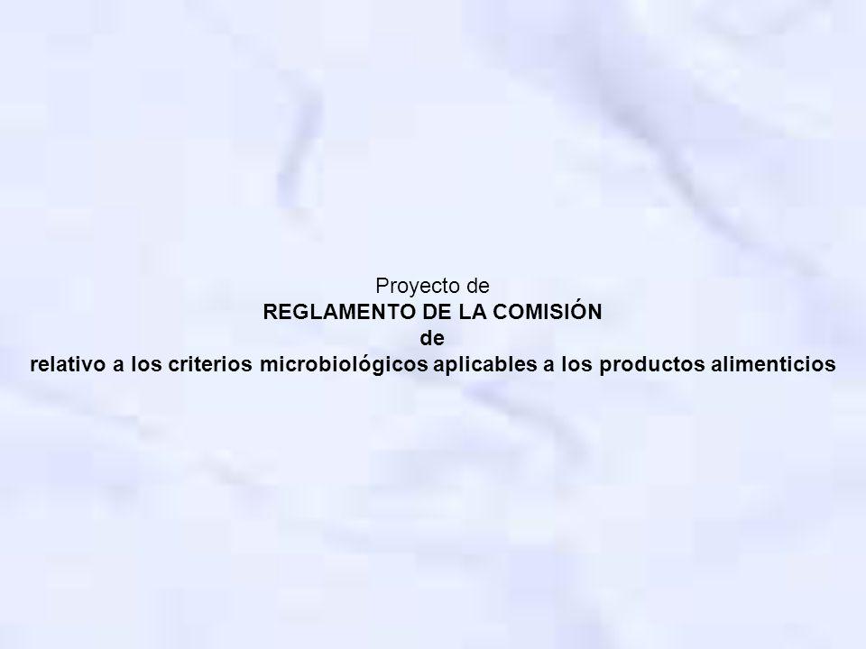 REGLAMENTO DE LA COMISIÓN