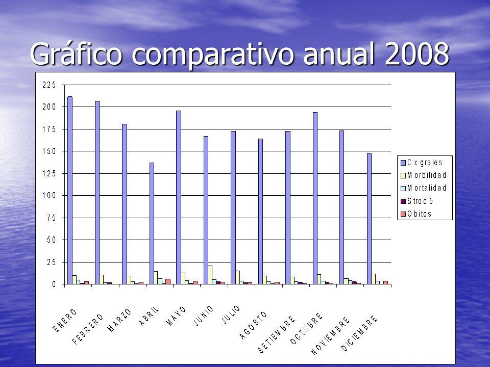 Gráfico comparativo anual 2008