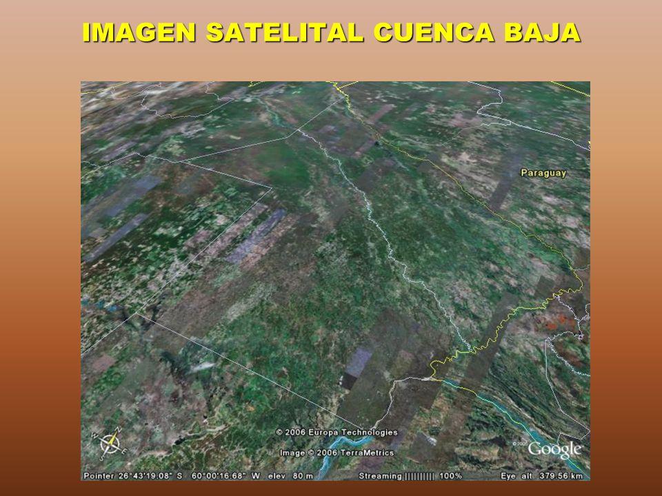IMAGEN SATELITAL CUENCA BAJA