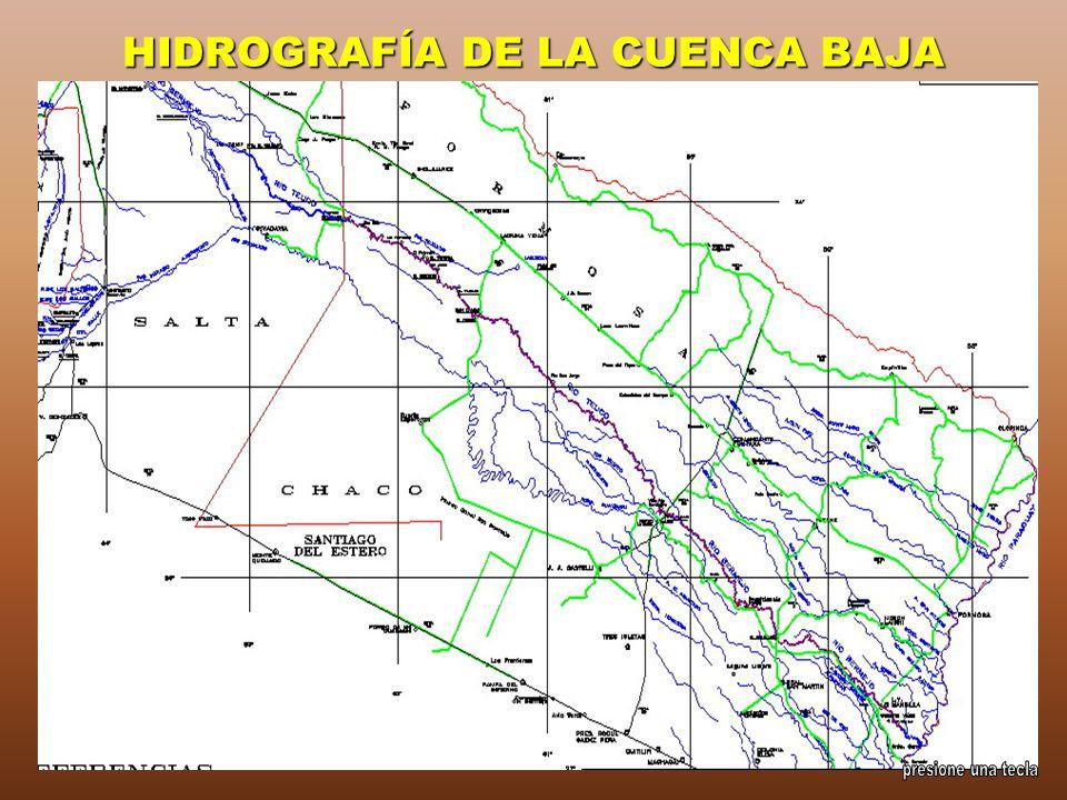 HIDROGRAFÍA DE LA CUENCA BAJA