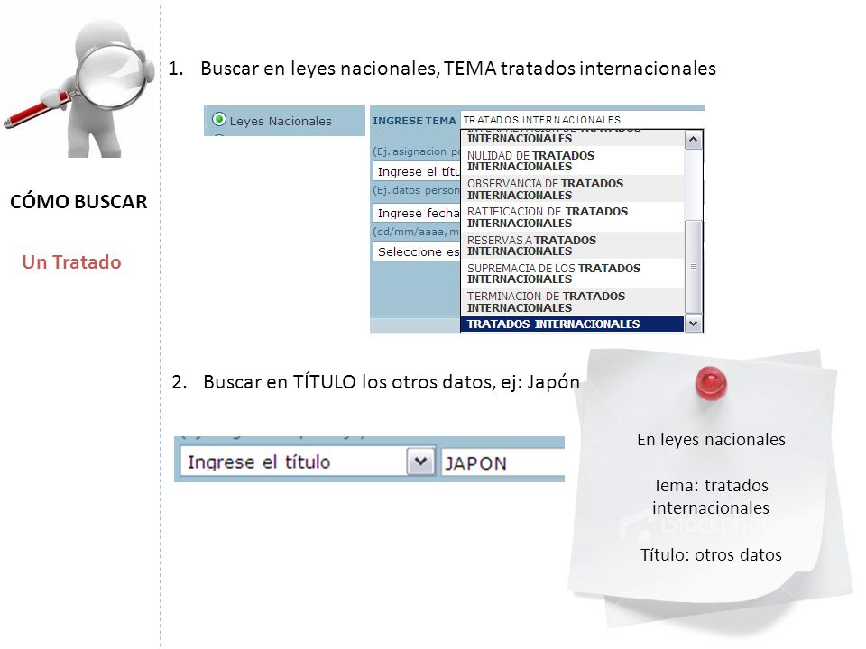 Tema: tratados internacionales