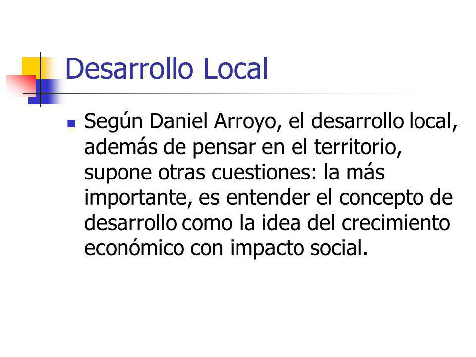 Desarrollo Local