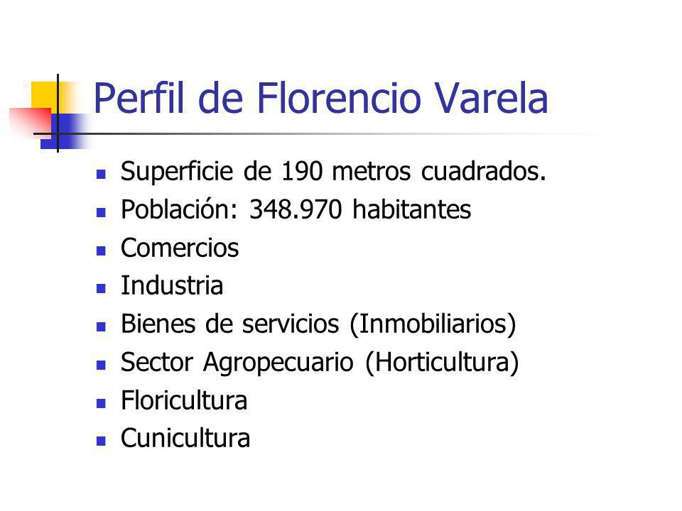 Perfil de Florencio Varela