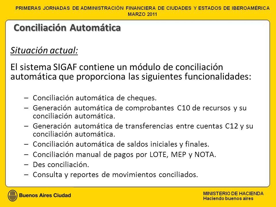 Conciliación Automática