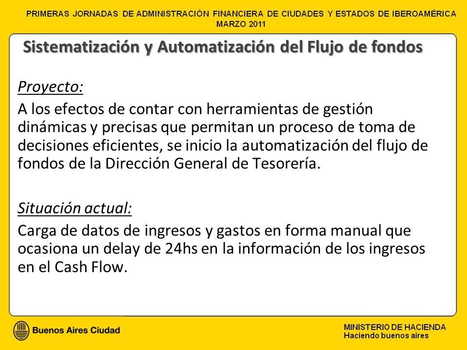 Sistematización y Automatización del Flujo de fondos