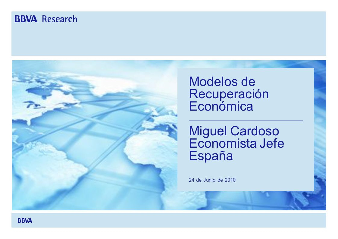 Modelos de Recuperación Económica