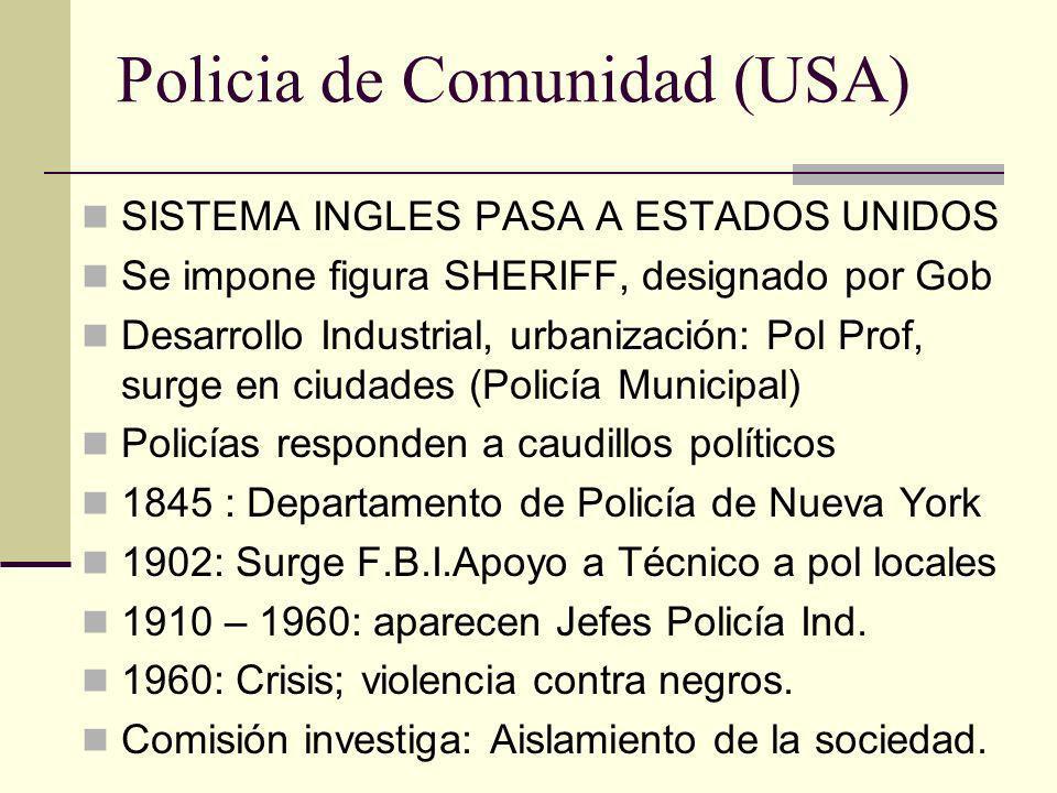 Policia de Comunidad (USA)
