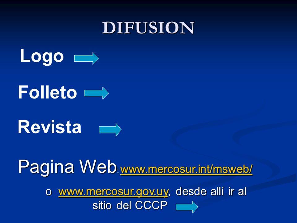 o www.mercosur.gov.uy, desde allí ir al sitio del CCCP