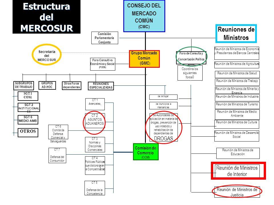Estructura del MERCOSUR