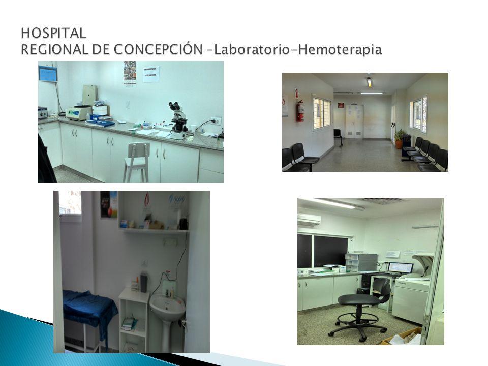 HOSPITAL REGIONAL DE CONCEPCIÓN –Laboratorio-Hemoterapia