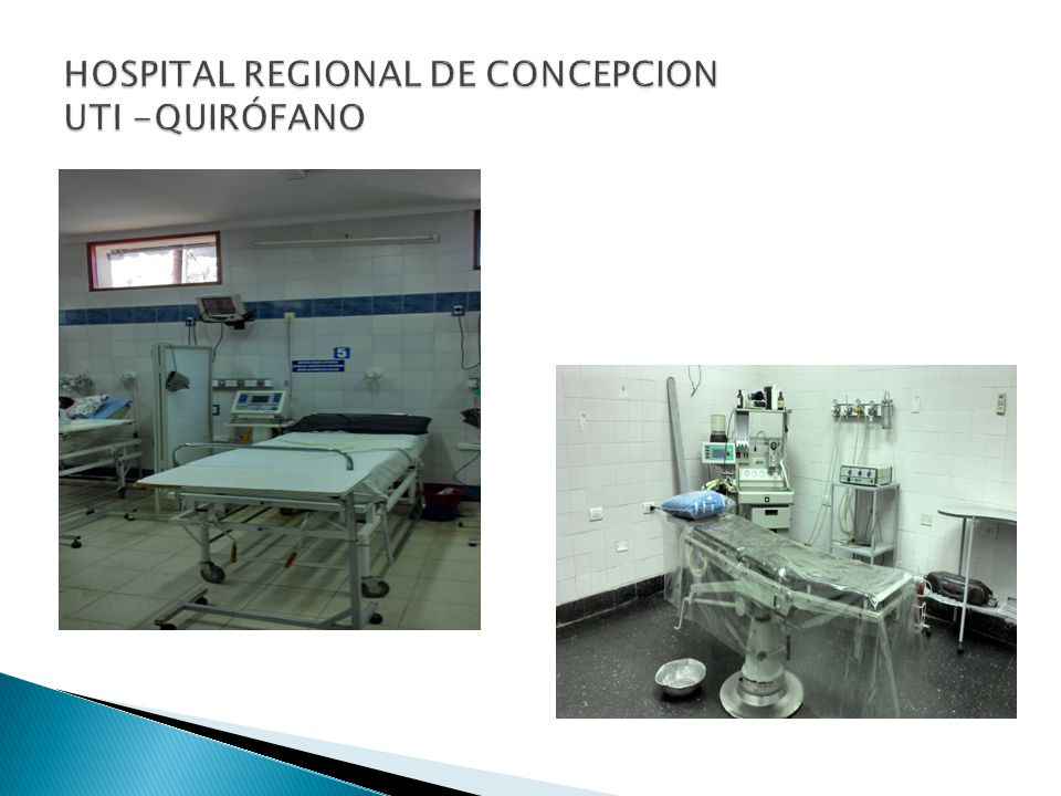 HOSPITAL REGIONAL DE CONCEPCION UTI -QUIRÓFANO
