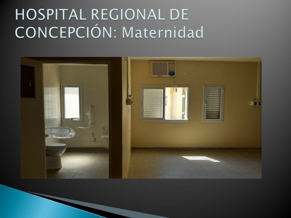 HOSPITAL REGIONAL DE CONCEPCIÓN: Maternidad
