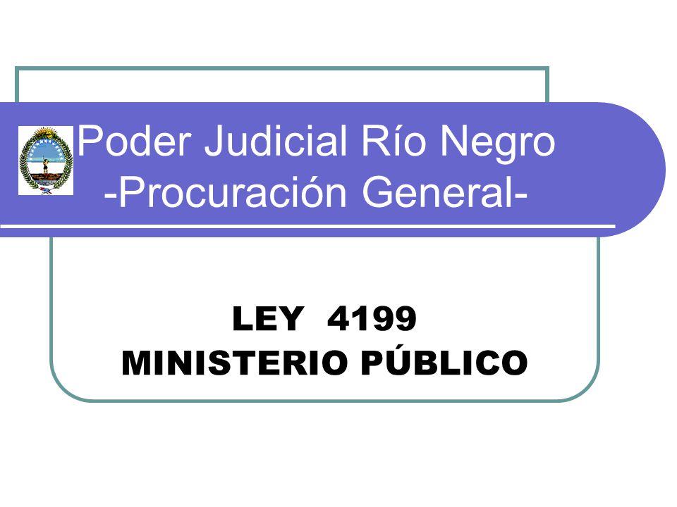 Poder Judicial Río Negro -Procuración General-