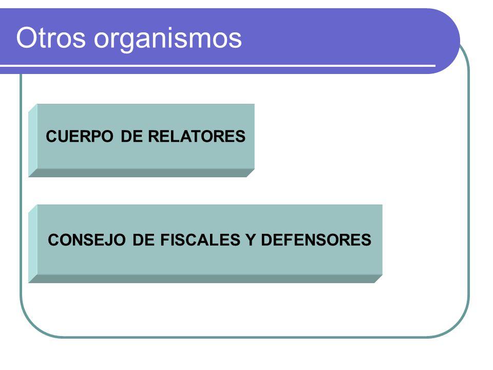 CONSEJO DE FISCALES Y DEFENSORES