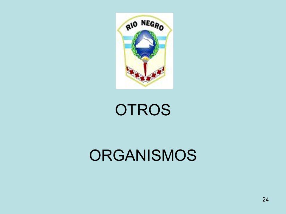 OTROS ORGANISMOS