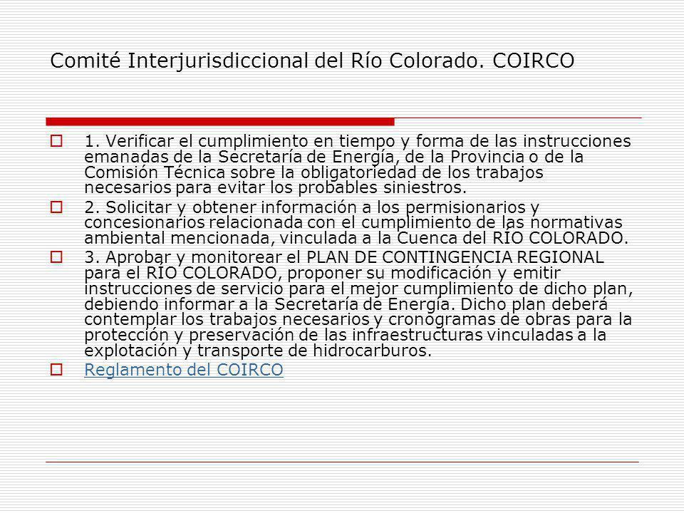 Comité Interjurisdiccional del Río Colorado. COIRCO