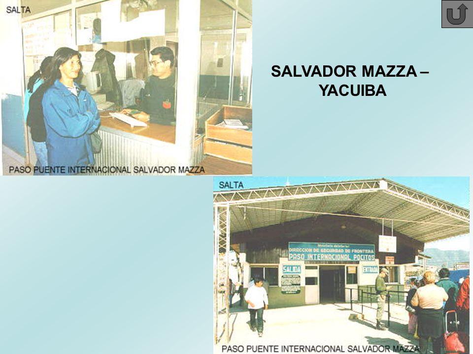 SALVADOR MAZZA – YACUIBA