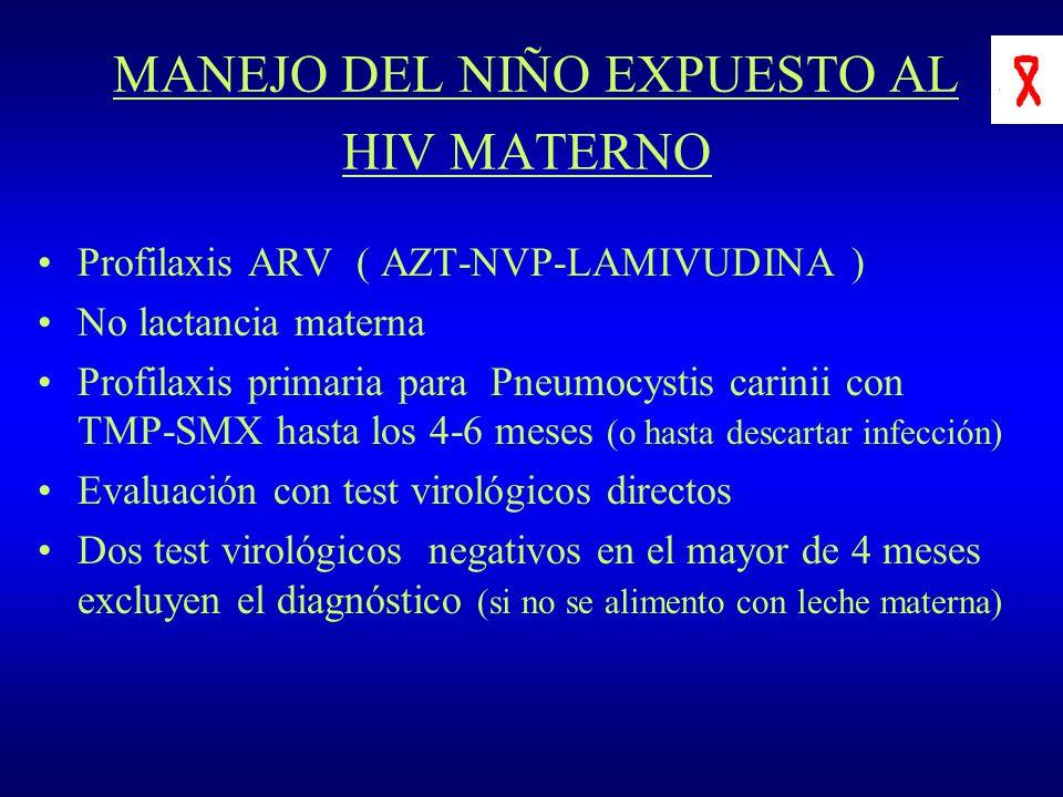 MANEJO DEL NIÑO EXPUESTO AL HIV MATERNO